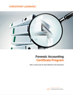 Getcertificate forensic accounting certificate program download brochure solutioingenieria Images