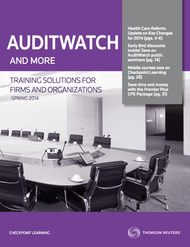AuditWatch Firms and Orgs Catalog (PDF)